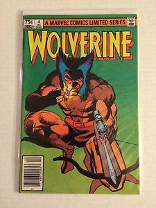 Wolverine #4 mini series comic (high grade)