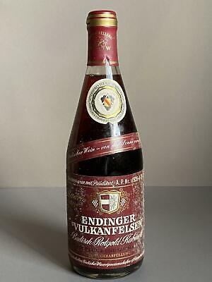 Wein 1981 Endinger Vulkanfelsen Rot Spätburgunder Kaiserstuhl 1-920-A-21-81