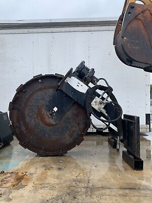 Trench Grader Sp42 Skid Steer Vibratory Compaction Wheel 10000lbs Trencher