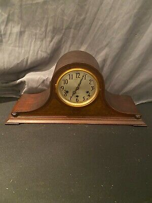 VINTAGE ANTIQUE SETH THOMAS WOOD CHIME MANTLE CLOCK for parts or repair