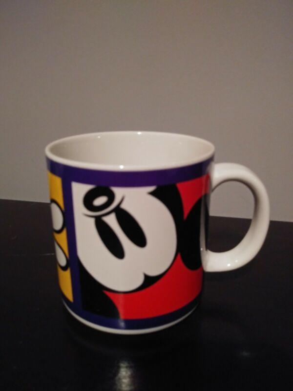 RARE Tokyo Disneyland Disney Toontown Original Mickey Mouse Mug Clean!