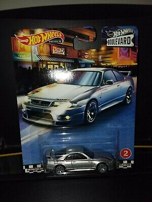 HOT WHEELS 2020 BOULEVARD REAL  RIDERS NISSAN SKYLINE GT-R (BCNR-33)  FREE SHIP