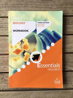 SACE 2 Biology Workbook Third Edition (Year 12/Stage 2)