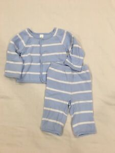 Baby Gap cotton Tracksuit. Size 0-3 months.