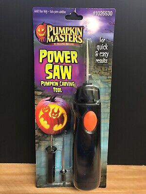 Pumpkin Carving Tool (Brand New PUMPKIN MASTERS Power Saw Pumpkin Carving Tool with Extra)