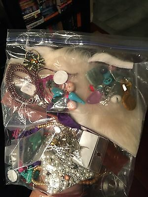 Large Variety Lot of Beads, Findings, Charms and Jewelry Making Supplies lot 5