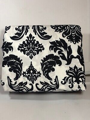 Black And White Scroll Full Sheet Set 4pc NEW Sheets Microfiber - Queen Black And White Sheets