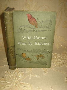 Antique-Collectable-Book-Of-Wild-Nature-Won-By-Kindness-By-Mrs-Brightwen-1909