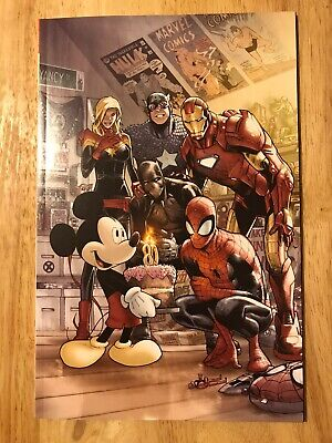 Chase the MARVEL COMICS #1000 Mickey Mouse Humberto Ramos (READ DESCRIPTION) ROU