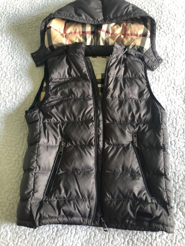 Burberry Kids Vest 10 Years Old