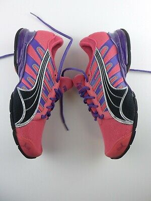 Puma 10 Cell Women's Size 7 B Athletic Running Shoes Pink Purple Trainers #418