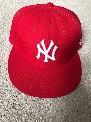 New Era New York 59FIFTY Men's Cap - Red Size - 7 1/4