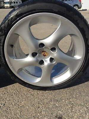 OEM Porsche 911 996  18 Inch  Solid Turbo Twist Wheels Rims With Tires