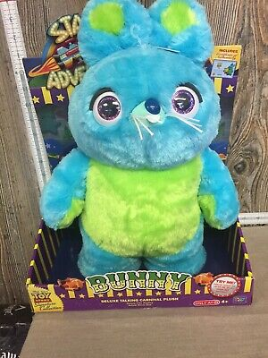 DISNEY PIXAR TOY STORY 4 SIGNATURE COLLECTION BUNNY DELUXE TAKING CARNIVAL PLUSH