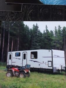 2004 custom built 33' camper