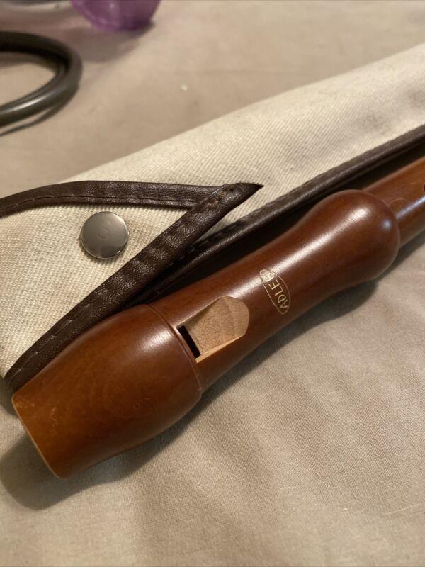 Adler Recorder With Case