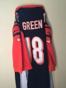 AJ GREEN AUTHENTIC ON-FIELD BENGALS JERSEY SIZE XL