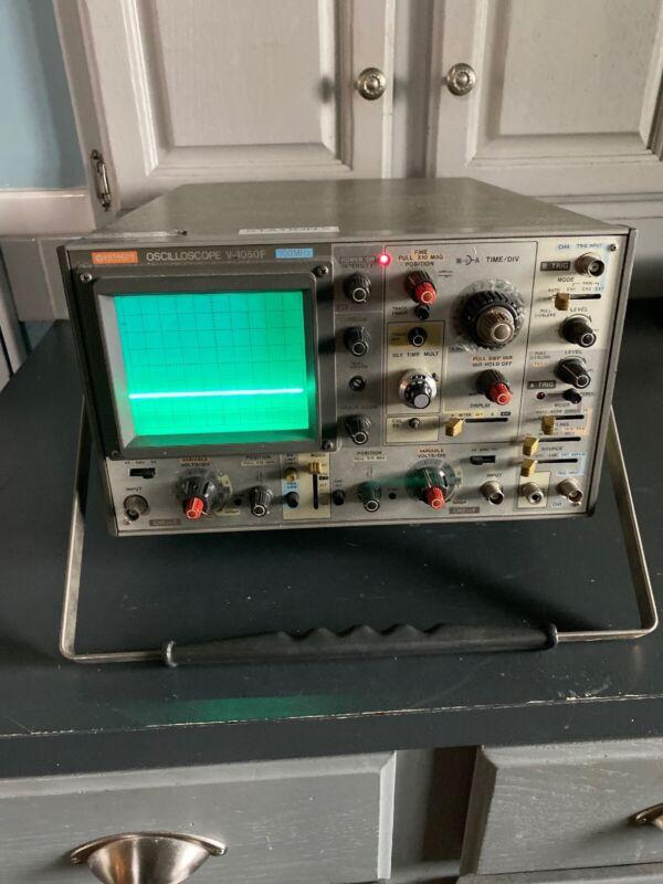 Hitachi V-1050F 100 MHz Oscilloscope