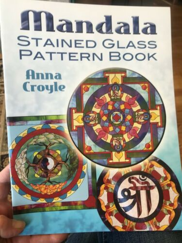 Mandala Stained Glass Pattern Book