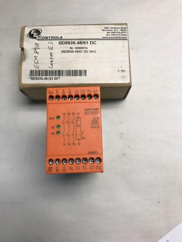 E Dold & Sohne BD5935.48/61 24VDC Safety Relay