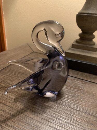 V. NASON & CO. MURANO GLASS ITALY SWAN