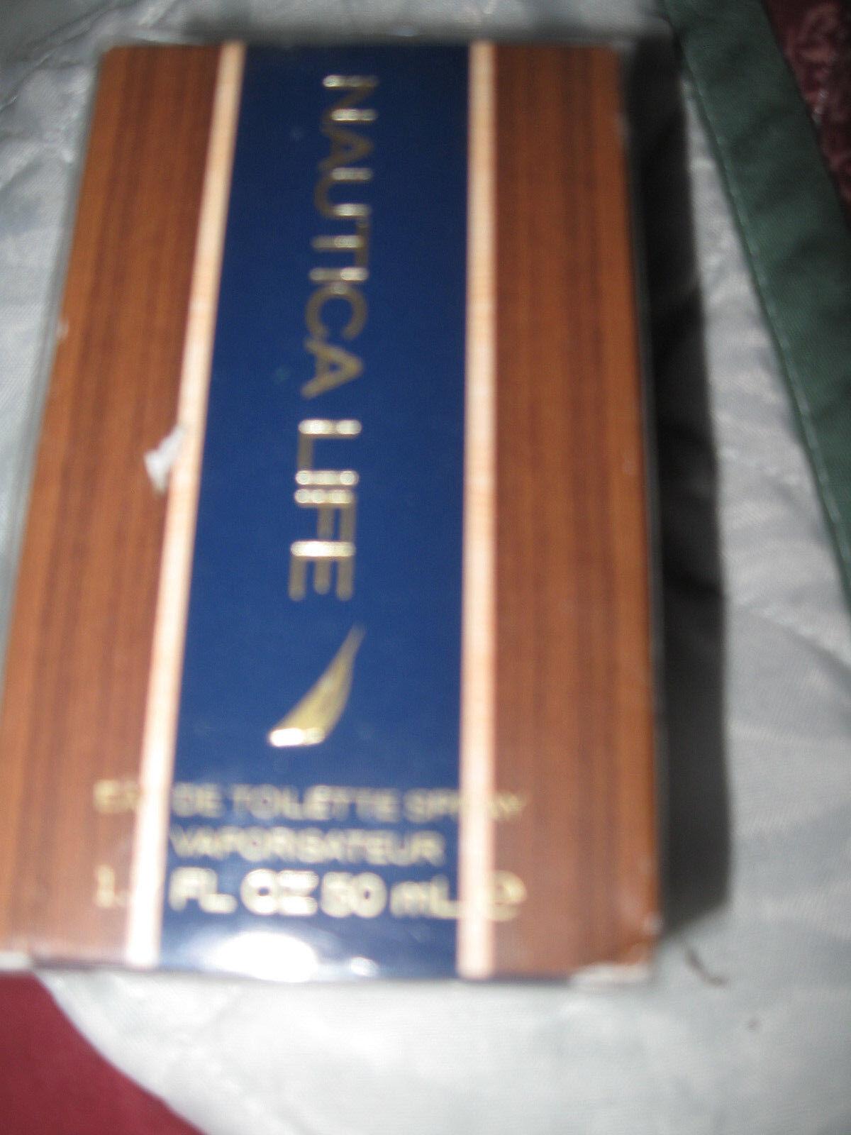 Nautica Life Eau De Toilette Spray 1.7 FL Oz Men's Cologne F