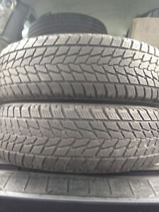 2-215/70R16 Open country winter tires