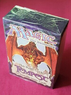 Magic The Gathering TEMPEST TOURNAMENT STARTER DECK New Sealed Box MTG