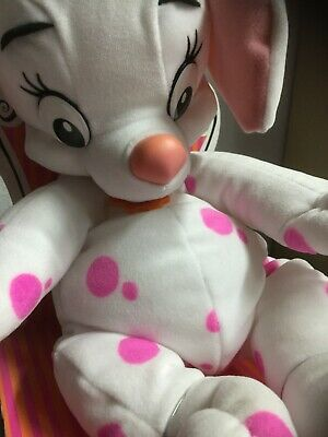 Disney 102 Dalmatiner - Schmuse Welpe Oddball mit - Rosa Disney Figuren