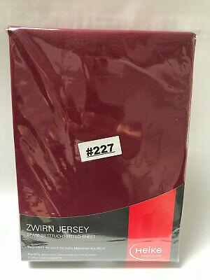 Zwirn Jersey Wasserbett Boxspringbett Spannbettlaken 140x200-160x220 40cm Höhe