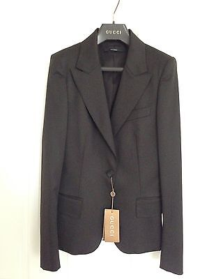 Brand new Authentic GUCCI Women's Jacket/Blazer brown ,GUCCI Size 42 IT (6 US)