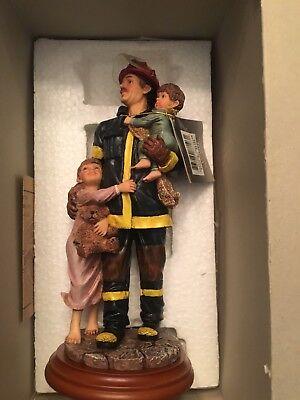 Vanmark Red Hats of Courage Collectible Figure #2 of 1335 Fireman