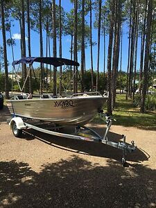 2016 Stacer 429 Rampage tinny 30hp Evinrude engine Coomera Gold Coast North Preview