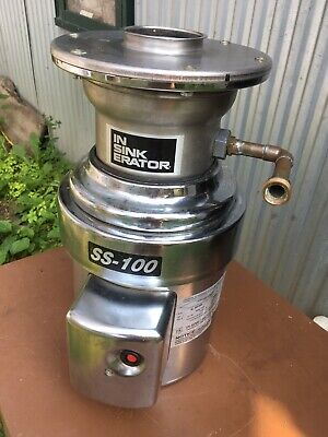 Commercial Disposal 1 Hp In-sink-erator Ss100-29 208-230460 Volt 3 Phase