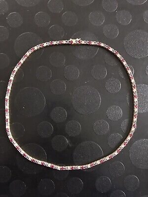 Joan Rivers Classics Collection Necklace With Simulated Pink And Purple Stones
