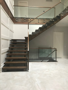 GLASS RAILINGS. ***SPECIAL OF THE MONTH***