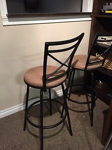 2 Bar Stools, excellent condition