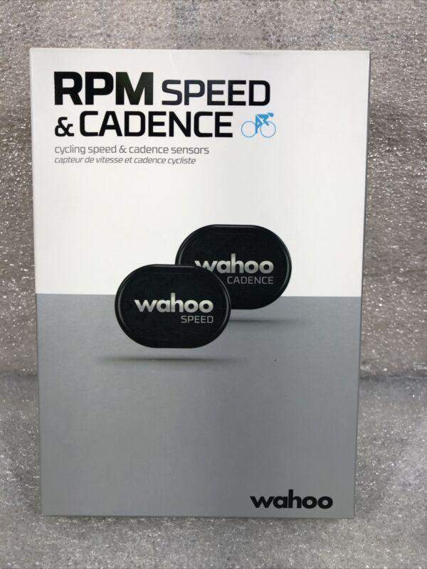Wahoo Fitness RPM Speed & Cadence Sensor Bundle w/Bluetooth/Ant+