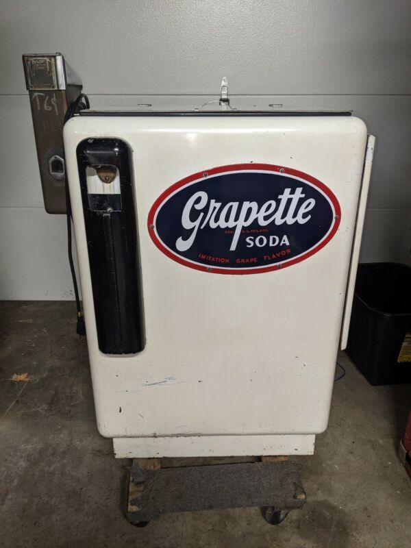 Ideal 35 Slider Machine Grapette Sign coke coca cola Pepsi vendo 55 85 ideal