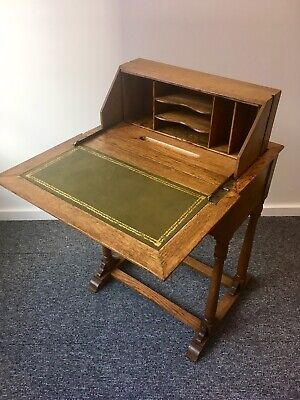 Antique oak metamorphic desk Simply Stunning Side Table