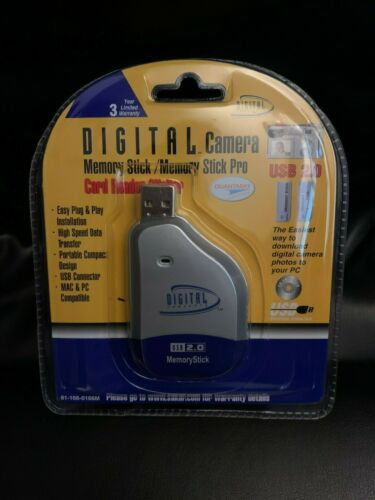 New Digital Concepts Digital Camera Memory Stick Pro Card Reader & Writer