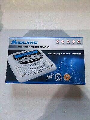 Midland WR120B NOAA Emergency Weather Alert Radio Battery Back Up English Spanis