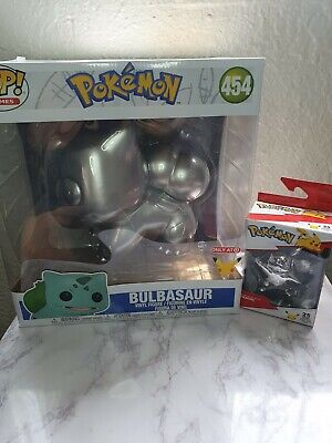 Pokemon 25th Anniversary Silver Figures !
