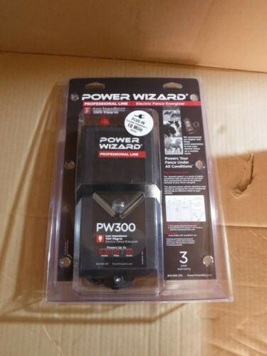 POWER WIZARD ELECTRIC FENCE CONTROLLER MODEL PW300