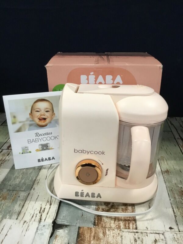 Beaba Rose Gold Babycook Steam Cooker and Blender
