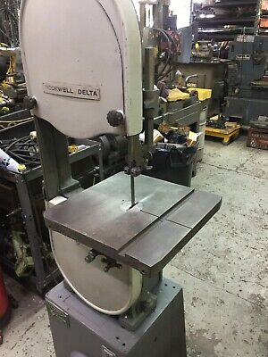 Delta 28-300 14 Vertical Band Saw - Wood And Metal