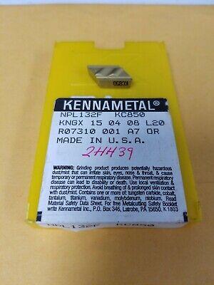 Kennametal Npl132f Kc850 Carbide Profile Turning Inserts Qty 10 Free Shipping