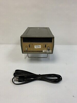 Hewlett Packard 5382a 22mhz Frequency Counter W Power Cord