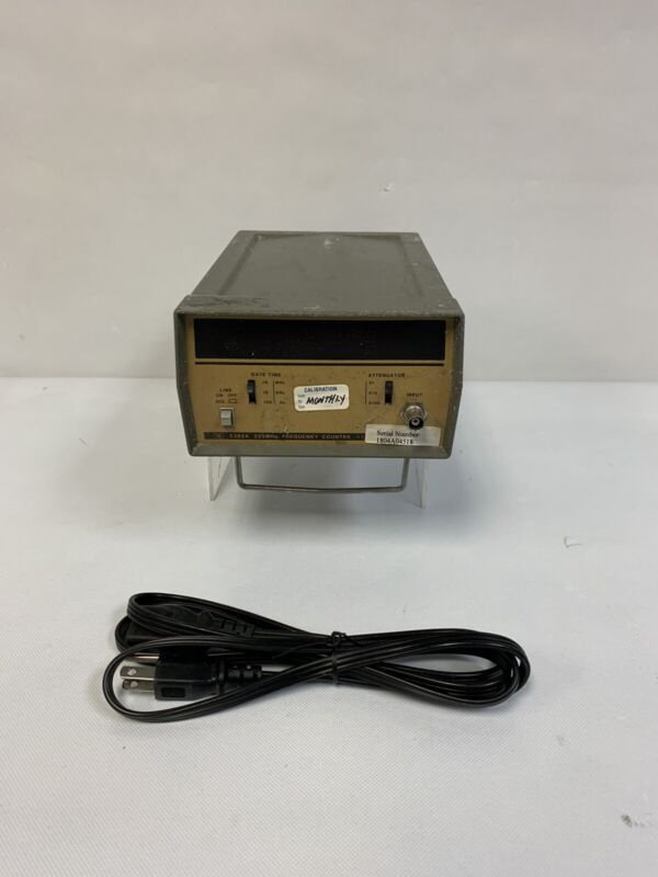 Hewlett Packard 5382A 22MHz Frequency Counter w/ Power Cord