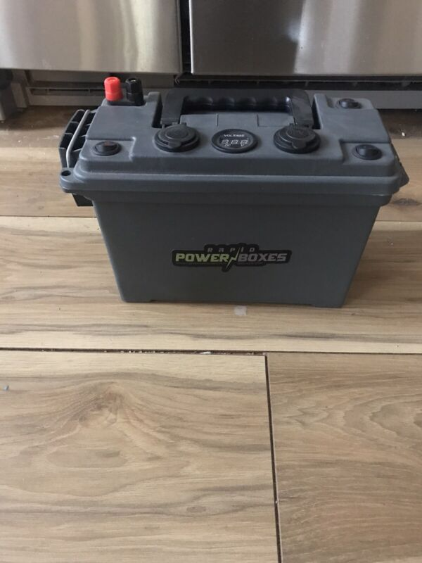 12v Portable Power Box Component Kit - for Ice Fishing Camping (BOX INCLUDED)